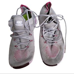 Nike Free TR fly knit 3 atmosphere. Grey